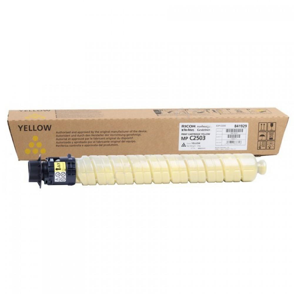 Toner MP C2503 Yellow 841929